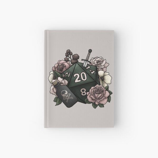 Rogue Class D20 - Tabletop Gaming Dice Hardcover Journal