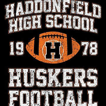Haddonfield High School Huskers Football by huckblade