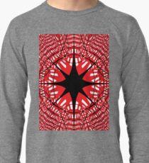 abstract star christmas pattern decoration light design blue holiday glass illustration texture shape snowflake winter red snow architecture xmas art white circle symbol wallpaper 3d Lightweight Sweatshirt
