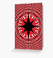 #abstract #star #christmas #pattern #decoration #light #design #blue #holiday #glass #illustration #texture #shape #snowflake #winter #red #snow #architecture #xmas #art #white #circle #symbol Greeting Card