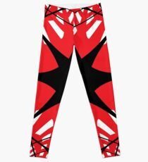 #abstract #star #christmas #pattern #decoration #light #design #blue #holiday #glass #illustration #texture #shape #snowflake #winter #red #snow #architecture #xmas #art #white #circle #symbol Leggings