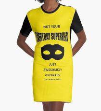 Not Your Everyday Superhero Graphic T-Shirt Dress