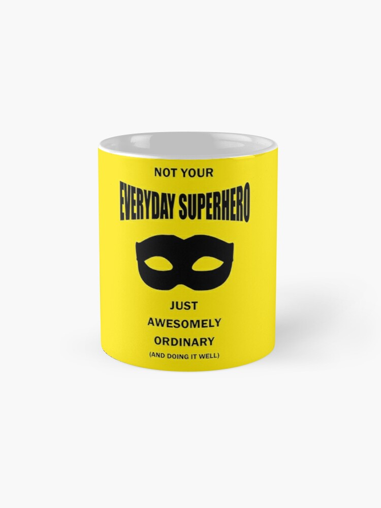 Alternate view of Not Your Everyday Superhero Mugs
