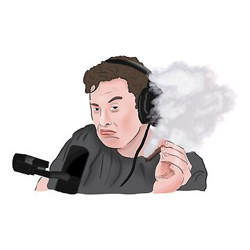 Elon Musk Smoking Weed Meme by Barnyardy