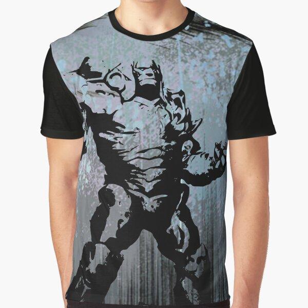 Magic Planeswalker Profile - Karn - Abstract  Graphic T-Shirt
