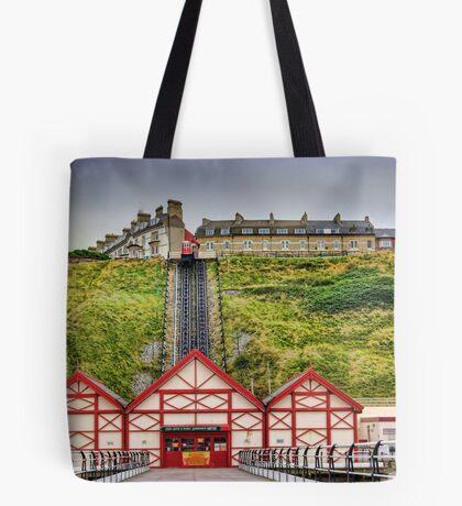 Saltburn Funicular Lift Tote Bag
