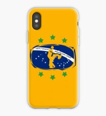 lets dance brazilian zouk flag color design iPhone Case
