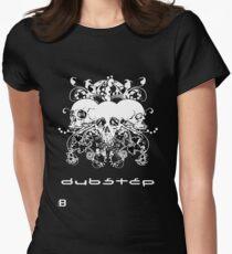 Updated Design!!!! 0909 Dubstep Skulls Women's Fitted T-Shirt