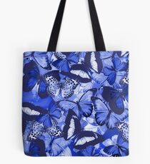 Composition With Echoed Butterflies #6  Tote Bag