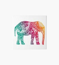 Warm Elephant Art Board
