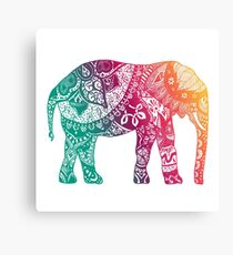 Warm Elephant Metal Print