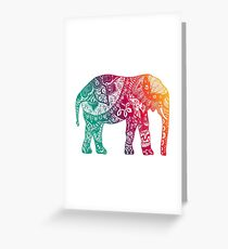 Warm Elephant Greeting Card