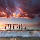 Pt Willunga Sunset by KathyT
