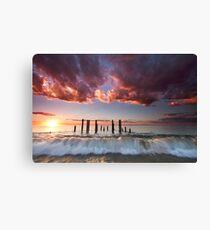 Pt Willunga Sunset Canvas Print