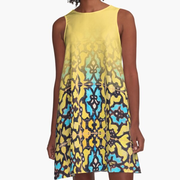 Your Face A-Line Dress