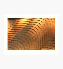 Undulating Wall Art Print