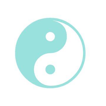 Turquesa Yin Yang de adjsr