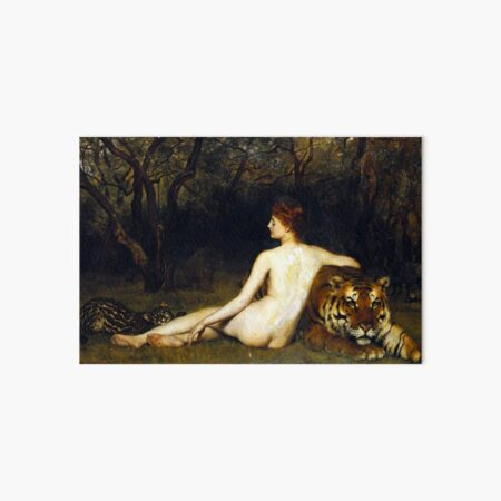 Circe - John Collier Art Board Print