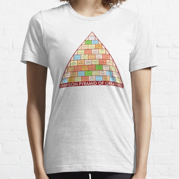 Pirámide de grandeza de Swanson Camiseta esencial