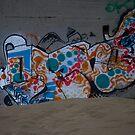 Beach Graffiti by Josef Grosch