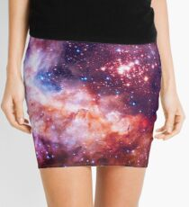 Our Amazing Universe - Westerlund 2 — Hubble's 25th Anniversary Image (Color Enhanced) Mini Skirt