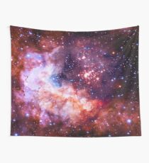 Our Amazing Universe - Westerlund 2 — Hubble's 25th Anniversary Image (Color Enhanced) Wall Tapestry