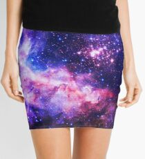 Blue Universe - Flower of Life Infinite Pattern - Westerlund 2 (Color Enhanced) Mini Skirt