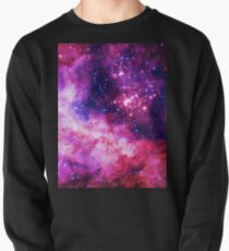 Pink Universe / Galaxy - Infinite Flower of Life Pattern - Westerlund 2 — (Color Enhanced) Pullover