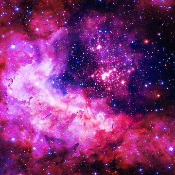 Pink Universe / Galaxy - Infinite Flower of Life Pattern - Westerlund 2 — (Color Enhanced) by SirDouglasFresh