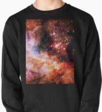 Orange Space Jam Galaxy - Infinite Flower of Life Pattern - Westerlund 2 (Color Enhanced) Pullover