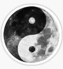 Moon Yin Yang Sticker