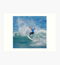 Roll on Rip Curl Pro Art Print