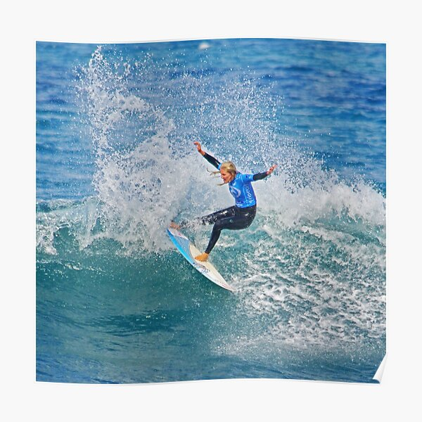Roll on Rip Curl Pro Poster