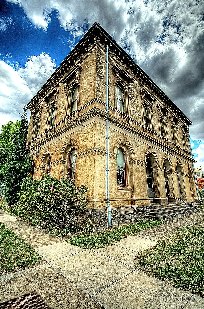 Going Postal # 2 - Clunes Post Office , Victoria - The HDR Experience by Philip Johnson