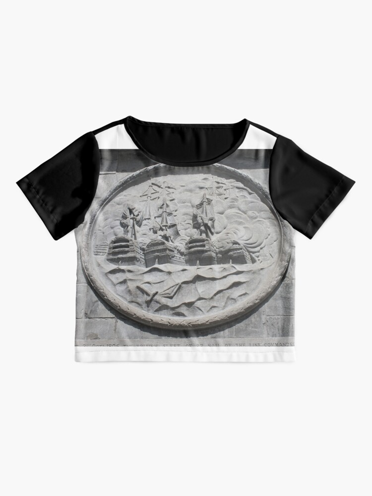 Alternate view of architecture old stone art ancient sculpture coin symbol religion church history detail metal antique lion statue wall building sign money monument travel head historical temple Chiffon Top
