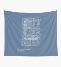 south street  district // philadelphia Wall Tapestry