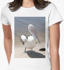 Australian Pelican Women's Fitted T-Shirt
