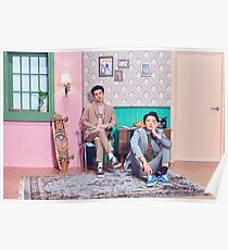 STATION X 0 Sehun (세훈) & Chanyeol (찬열) 'We Young' Poster