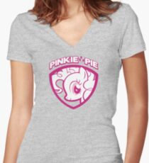 My Name is Pinkie Pie Women's Fitted V-Neck T-Shirt