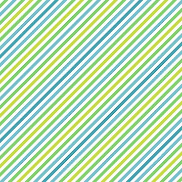 Blue & Green Geometric Striped Pattern by quarantine81