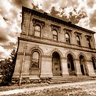 Going Postal (Sepia) - Clunes - The HDR Experience by Philip Johnson