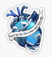niall the tide heart lyrics Sticker