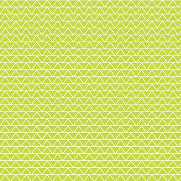 Lime Green Fat Triangles Pattern  by quarantine81