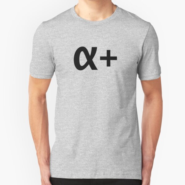 Alpha Plus (Light) Slim Fit T-Shirt