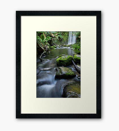 Beauchamp falls 2 Framed Print