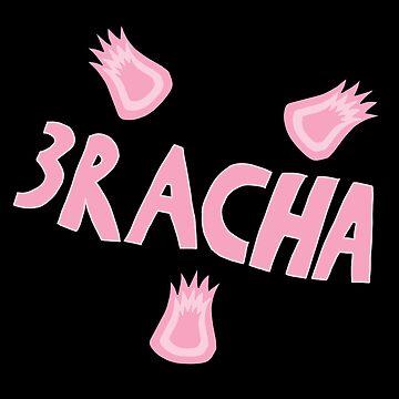 3Racha Pink by bellmakesart