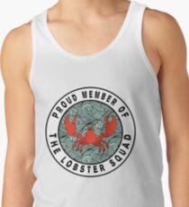 Stolzes Mitglied der Lobster Squad Tanktop für Männer
