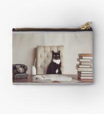 Corporate Cat Studio Pouch
