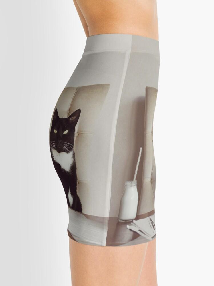 Alternate view of Corporate Cat Mini Skirt