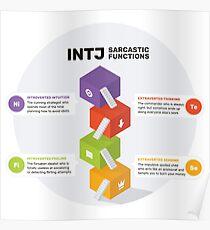 INTJ Sarcastic Functions Poster